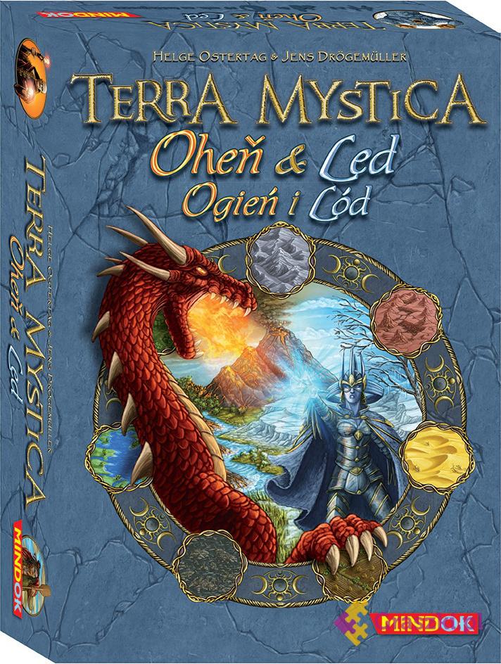Terra Mystica: Ogień i Lód LEKKO NADERWANA FOLIA